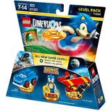 Lego Dimensions Sonic Level Pack Lacrado 71244 Frete Gratis