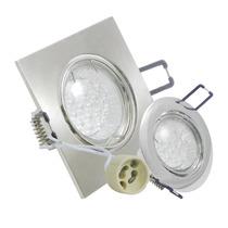 Kit Spot Led Gu10 Direcionável Branco Quente E Frio 18 Leds