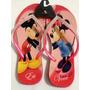 Chinelo Havaianas Personalizado - Slim Mickey Minnie Strass.