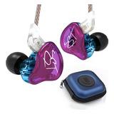 Fone Kz Zst Pro In-ear + Bag  Dual Drive Retorno Palco/se215