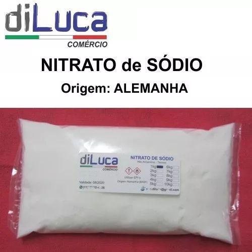Nitrato De Sódio (salitre Do Chile) Puro Alemanha 1kg