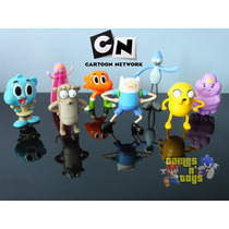 Bonecos Cartoon Network Hora De Aventura Gumball Mc Donalds