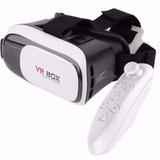Óculos Vr Box 2.0 Realidade Virtual 3d Android Controle