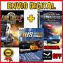 Euro Truck Simulator 2  + Bus Driver 2018 + American Truck