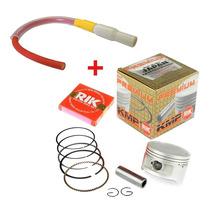 Kit Competição Pistão Kmp + Cabo Wgk Ibooster Titan Bros 150