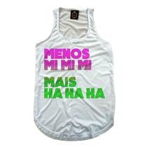 Regata Camiseta Feminina Fitness Personalizada Para Academia