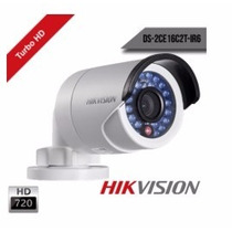 Câmera Infra Hikvision Turbo Hd 20mt Hd-tvi 1.0mp 720p 6mm