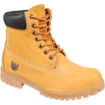 Bota Amarela Hip Hop Coturno Albarus