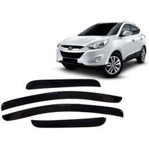 Jgo Calha De Chuva Acrilica Hyundai Ix35 10 11 12 13 14 A 16