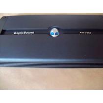 Módulo Amplificador Explosound Xm3600 4 Canais Mono Sterio