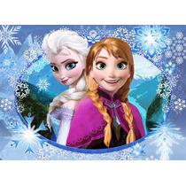 Painel Decorativo Festa Infantil Lona Frozen 1,4m X 1m