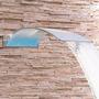 Cascata Em Inox Para Piscina - Wave Wall 80cm