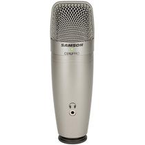 Samson C01u Pro Microfone Condensador Usb . C01 . Lançamento