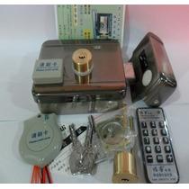 Kit Fechadura Elétrica Com Controle De Acesso Rfid