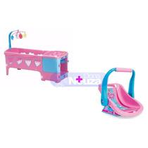 Berço De Boneca Magic Toys E Bebe Conforto Cotiplas