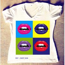 T-shirts Feminina Atacado Revenda Camisetas Personalizadas