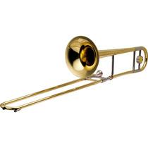 Trombone De Vara Bb Laqueado Hsl-700l - Harmonics