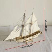 Navio Madeira Halcon 1840 Modelismo Corte A Laser