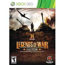 History: Legends Of War - Patton - Xbox 360 / X360