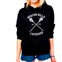 Moletom Unissex Série Teen Wolf Lacrosse - Stilinski
