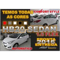 Hb20 Sedan Comfort Style Automatico - 16/16- Pronta Entrega