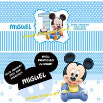 Rótulo Adesivo Personalizado Para Cofrinho Cofre Frozen