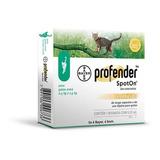 Profender Gatos Bayer 0,5 A 2,5kg