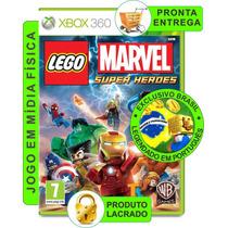 Lego Marvel Super Heroes - Xbox 360 (lacrado - Mídia Física)