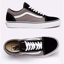 Tênis Vans Old Skool Black/pawter. Compra 100% Garantida