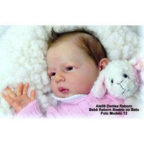 Boneca Bebê Reborn Beatriz Ou Beto Parece Um Bebe De Verdade