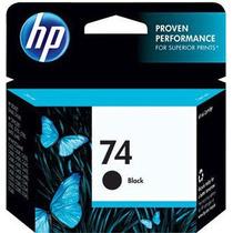 Hp 74 Preto 6ml Cb335wb Hp 1 Un Cartucho De Impressora