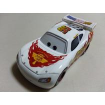 Disney Cars 2 Relâmpago Mcqueen Branco Original Mattel Loose
