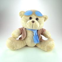 Urso De Pelúcia Aviador M