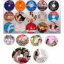 Impressão 50 Cds Ou Dvds Com Imagens Diferentes + Frete Grát