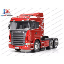 Kit Caminhão Tamiya 56323 Scania R620 Highline 6x4 Trucado