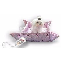 Cama Térmica 0,35 X 0,35 110v Modelo Cães E Gatos Pet Rosa