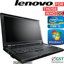Notebook Lenovo Thinkpad I5 4gb 500gb Win 7 Pro Garantia