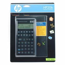 Calculadora Financeira Hp 20b Rpn2 Ou Algébrica 250 Funções