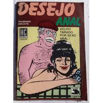 Objeto Do Desejo Anal - Hc Comix - Watson Portela - 1988