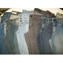 Lote 6 Calças (40) Semi Novas Roupas Usadas Jeans Feminino