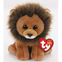 Brinquedo Novo Pelúcia Beanie Boos Ty Leão Cecil 16 Cm Dtc