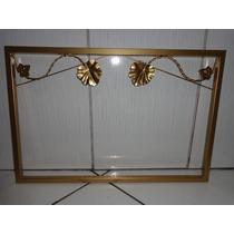 Moldura Em Ferro Sem Espelho 60cm X 40 Cm Cor Ouro