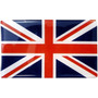 Adesivo Resinado - Bandeira De Pais - 9x6cm - Com Garantia