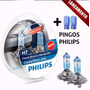 Par Lampada H7 Philips Cristal Vision Branca 5000k Carro