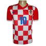 Camisa Seleção Da Croácia (quadriculada)