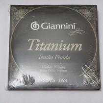 Sétima 7ª Corda Giannini Violão Nylon Titanium Pesada