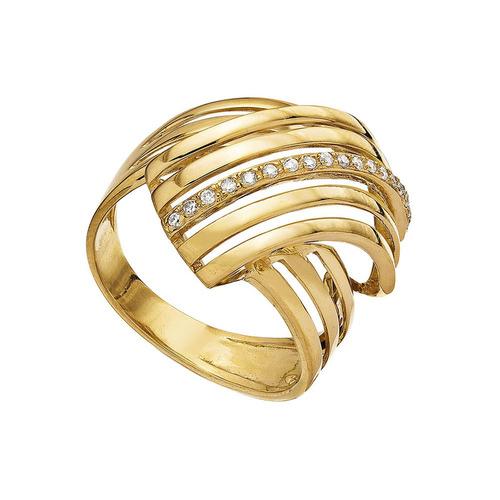 Anel Ouro 18k ( 750 ) Pedra Natural Diamante