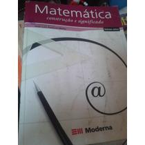 Livro Matemática Construção E Significado Vol. Único Moderna