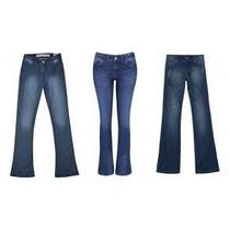 Calças Jeans Feminina Flare Jeans No Lote 10 Peças Brechó