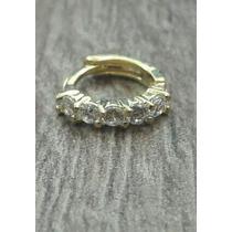Piercing Argola Orelha Helix Aço Fl Ouro Prata Cartilagem
